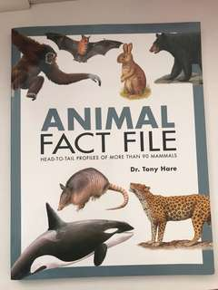 Animal Fact File- Book