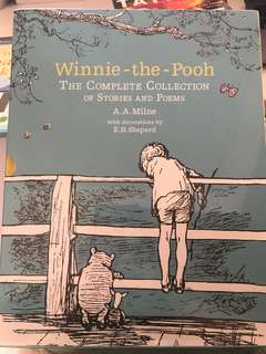Book- Winnie the Pooh the complete collection of stories and poems