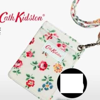 全新 Cath Kidston 證件套 八達通套 有長掛頸帶 卡包卡套 咭片套 Card holder (with detachable strap)