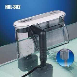 Sunsun HBL-302 Hang On Back Filter for Small Fish Tank