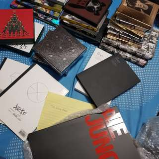 EXO ALBUMS FOR SALE negotiable