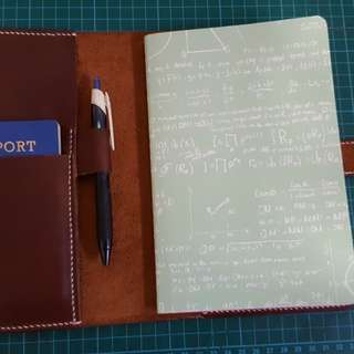 Leather Travel Journal/ Diary