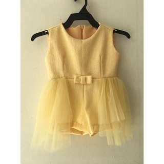 Gaun jumper 1-2 tahun