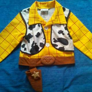 Woody Toy Story Costume Top