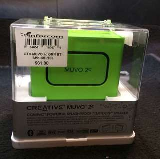 BNIB Creative  muvo bluetooth speaker