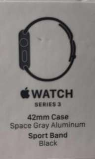 Apple Watch s3全新 44mm gray