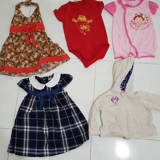 Baby to toddlers clothes