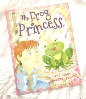 Charity Sale! The Frog Princess by Miles Kelly and other Princess Stories