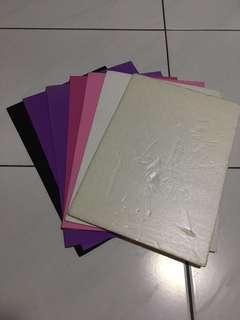 Foam sheets/ foam papers and Styrofoam