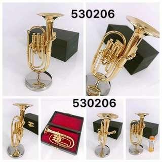 迷你中音號 Alto Horn 金屬模型 mini metal musical instruments model (現凡購買任何迷你樂器模型滿三件或以上可獲額外95折優惠!)