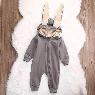 Rabbit ear rompers