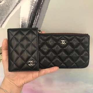 Chanel cardholder coinbag