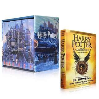 💥 NEW - Harry Potter Special Edition The Complete Series Book Set with The Cursed Child
