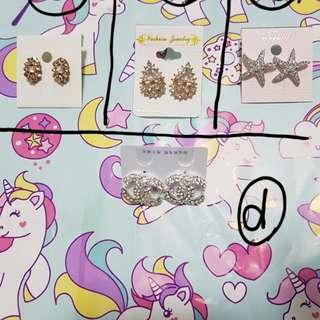 Korean Crystal Earrings (2)