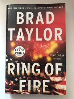 Brad Taylor-Ring of Fire