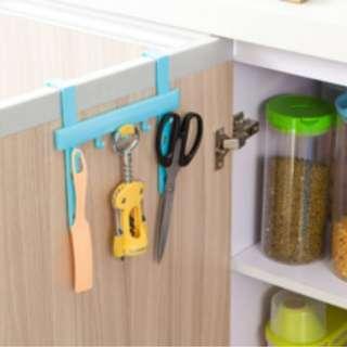 Alat gantung peralatan dapur mandi cuci piring kain lap praktis HKN066