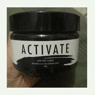 28street AUTHENTIC ACTIVATE charcoal facial clay mask