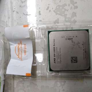 AMD CPU A4-3400 with 核显