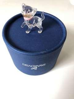 Swarovski Cat Crystal