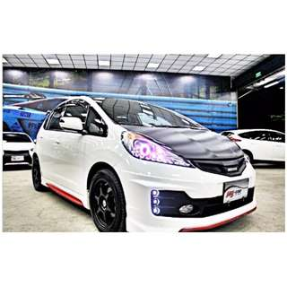 2010 FIT 精品改 白