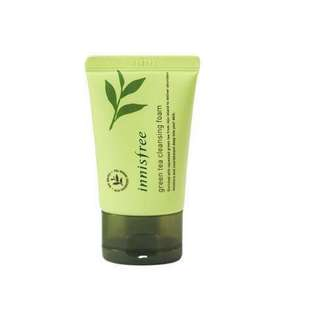 Innisfree Green Tea Cleansing Foam 30ml ‼️ONLY ONE LEFT‼️