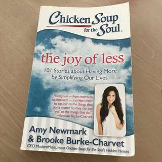 CHICKEN SOUP (the joy of less)