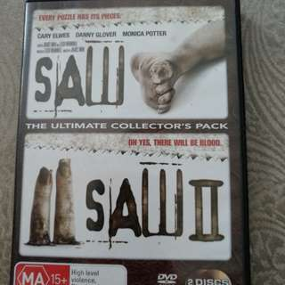 Saw 1 n 2, only for $8!