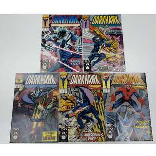 Darkhawk #1-9 (1991) Set of 9 Books