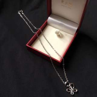 周大褔S925純銀頸鍊 Chow Tai Fook S925 silver necklace
