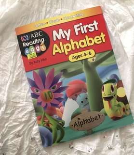 Charity Sale! My First Alphabet Ages 4-6 Children Books