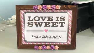 Love is sweet, please take a treat (DIY)