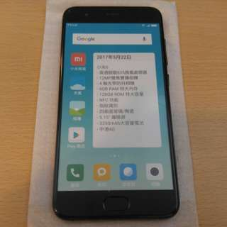 [玩具手機 Fake Mobile]  小米6 黑色 - Dummy手機/玩具/擺設品 小孩玩具手機 道具手機 不可以打電話 仿真手機