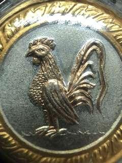✅ Thai Amulet - Rian Rooster Zodiac - Chicken - Tri Color Edition - Aj KhunPan - Arjan Khun Pan - Thai Amulets