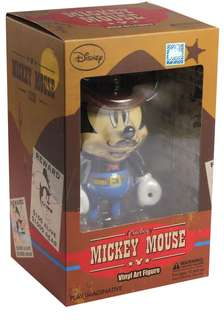 Mickey Mouse  Cowboy Vinyl Statue Play Imaginative