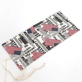 Korean Style Wrap Pencil Case