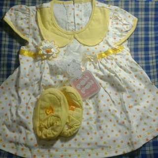 Dress Baby Girl Yellow