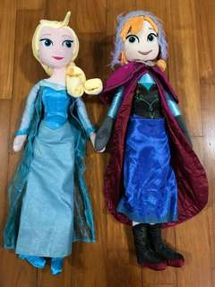 Frozen Plush Toys (Elsa and Anna)