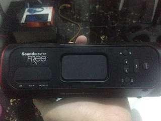 Rush!!! Soundblaster free bluetooth speaker