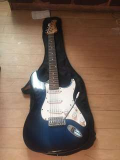 Barely used Global Electric guitar and amplifier
