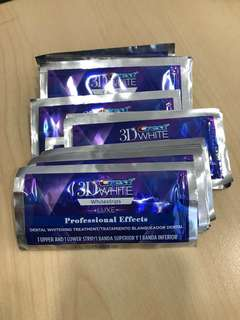 3D Crest White Luxe Professional Effects Whitening Stripes - Full Set x 20 Pieces