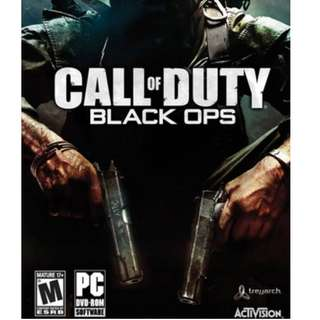 Call of Duty Black Ops COD [GAME PC LAPTOP]