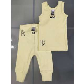 Bonds Ribbies Set Size 000/ 0-3m, 00/ 3-6m (best fit 6-12m)