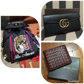 Authentic Grade Gucci and Bottega Veneta