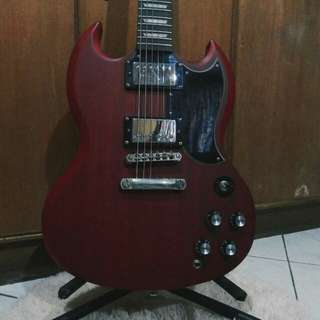 Epiphone SG G400 Worn Cherry