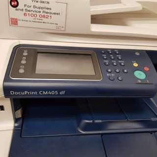 Fujixerox DocuPrint CM405 df