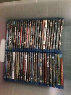 Assorted Blu-Ray