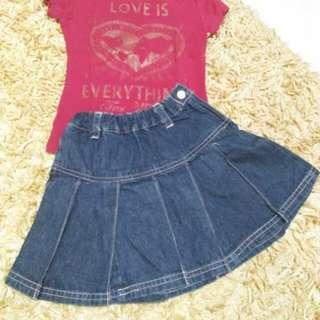 Rok jeans A-93