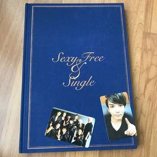 Super Junior Sexy Free & Single album (Ryeowook + group PC)