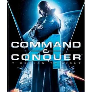 Command and Conquer 4 : Tiberian Twilight [GAME PC LAPTOP]