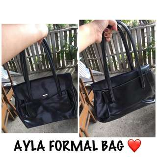 AYLA BLACK ELEGANT FORMAL BAG